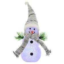 Weihnachtsdekorations Figuren in Grau