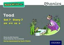 Read Write Inc. Phonics Grey Set 7 Storybook 7 Toad, Paperback, Students Book