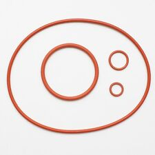 New Nikon Nikonos V O-rings / rubber gaskets. Red storage set