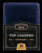 Case 1000 CBG 3x4 Baseball Trading Card Hard Plastic Topload Holders Toploaders