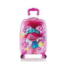 Trolls Poppy Kids Classic Designed Pink colored Spinner Luggage - 18 inch
