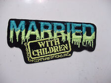 Lot of 25 MARRIED WITH CHILDREN PATCH - EMBROIDERED-IRON ON 1990'S LICENSED -4