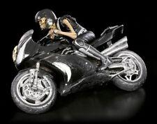 Esqueleto Figura auf Motocicleta - VELOCIDAD Segador - JAMES Ryman MUERTE