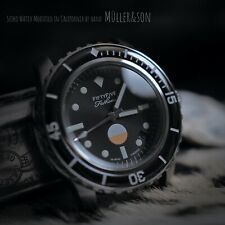 "Müller&Son Watch ""MIL-SPEC SuperMod"" made from Seiko SNZH Fifty Five Fathoms"