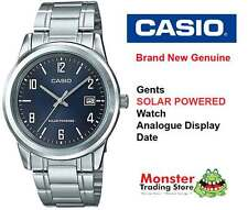 AUSTRALIAN SELLER CASIO MTP-VS01D-2BD SOLAR POWERED WITH DATE 12 MONTH WARRANTY