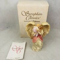 "Seraphim Classics 8"" Angel Mariah Heavenly Joy 1995 Vintage 74109 Figurine"