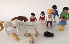 Vintage 12 Geobra Playmobil Kid figures 1981 1986 1981 1987 Lot