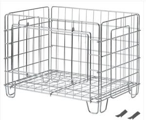 OMBYTE wire basket, Foldable Basket, Storage Basket, Ikea Basket , New