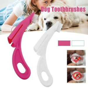 Dog Cat Puppy Kitten Teeth Cleaning Finger Tooth Brushes Safely Useful/*