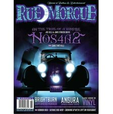 """RUE MORGUE MAGAZINE ISSUE #188 MAY/JUNE 2019 Feature """"ON THE TRAIL OF A VAMPIRE"""""""