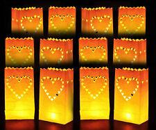 motivo confezione da 50 pezzi Sacchetti//lanterne portacandela sole