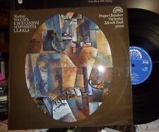 MARTINU Toccata E Due Canzoni / Sinfonietta La Jolla, LP NM/EX SUPRAPHON Prague