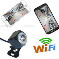 WiFi Wireless Car Safety Rear View Cam Reverse Camera For Phone Android IOS 150°