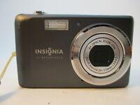 Insignia NS-DSC1112SL 12.0 MP Digital Camera - Dark Gray *WORKING/TESTED*