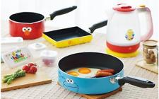 Sesame Street Kitchen Full Set Saucepan frying pan electric kettle from japan