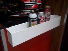 "Special 6 - 20"" Gloss White Tool Box Aerosol Spray Can Holders Organizer Holder"