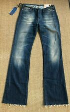 Replay WV425A Dark Distressed booty flare 29/32 New With Tags