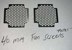 """GCRC NEW """" (2) 40mm metal screens"""