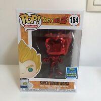 Funko Pop - Dragon Ball Z - Super Saiyan Végéta Chrome Red Rouge #154