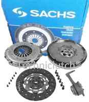 VW GOLF 2.0 TDI SACHS DMF FLYWHEEL, CLUTCH KIT WITH SLAVE BEARING AND BOLTS