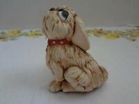 Vintage Pendelfin TAMMY Puppy Dog Figurine Hand Painted Stonecraft A33