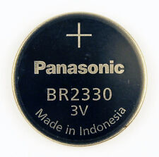 2PC Panasonic BR2330 2330 Coin Cell Battery - Ships from Canada
