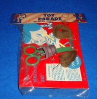 Vintage Toy Parade Lido Toy Co Knitting & Spool Set MIP New Old Stock