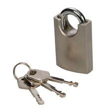 40mm Shrouded Shackle Padlock – Security Keyed Safe Lock – Gate Toolbox Luggage
