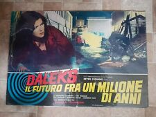 DR WHO (DALEKS: INVASION EARTH 2150 AD) 1967 italian poster
