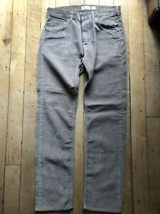 Patagonia men's trousers cords jeans W 32 L 32 straight beige 100% eco cotton