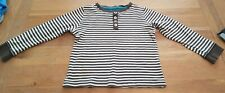 Boys brown striped longsleeve top see description roughly age 3-4