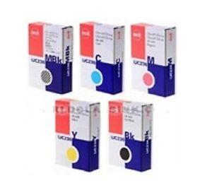5x Original Tinte OCE CS-2124 CS-2136 CS-2424 CS-2236 / IJC-236 MBK BK C M Y INK