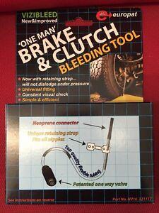 Simple Brake Bleed Kit One Person Visibleed easy bleed