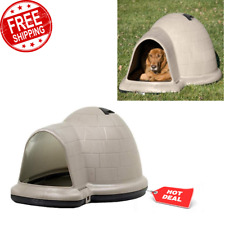 Heavy Duty Igloo-Shaped Indigo Dog House for Large Size Dog with Microban New