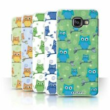 Owl Rigid Plastic Cases & Covers for Samsung Galaxy A3