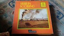 """""""The World of Railways- Steam in Scotland"""" Rare Vinyl LP-SPA 579"""