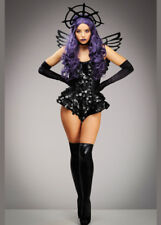 Womens Halloween Gothic Dark Angel Costume DOES NOT INCLUDE WINGS