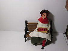 Byers Choice 1991 Apple Lady with Red Stockings