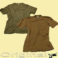 Orig. Bundeswehr Feldhemd Unterhemd T-Shirt beige Tropen khaki NATO Tropenshirt