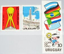 Uruguay 1980 1605-7 Block 50 1092-4a Soccer Gold Cup NH