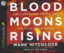 BLOOD MOONS RISING by Mark Hitchcock - Set of 4 Unabridged Audio CDs *BRAND NEW*