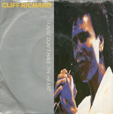 "45 TOURS / 7"" SINGLE--CLIFF RICHARD--I JUST DON'T HAVE THE HEART--1989"