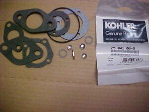 KOHLER CARB REBUILD Walbro M8, M10, M12, M14, M16