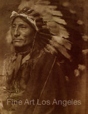 "Gertrude Kasebier Photo, ""Whirling Horse"", 1901, American Indian"