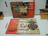 Collection Vintage Recipe Cookbooks Salads Sour Cream Buttermilk Soup Chocolates