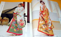 Japanese style kimono and dress wedding photo book from japan rare #0123