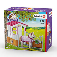 Schleich 42368 Horse Stall with Lusitano Mare (Horse Club) Plastic Playset