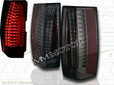 2007-2014 CHEVY SUBURBAN TAHOE / 07-14 YUKON SMOKE TAIL LIGHTS G5 ESCALADE