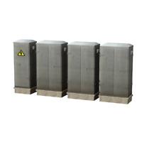 Bachmann 44-560 OO Gauge Lineside Cabinets (Pack 4)