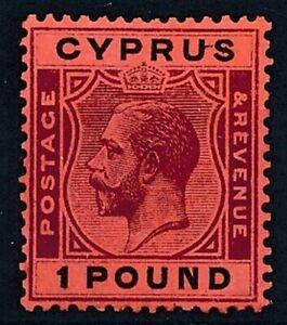 [56221] Cyprus 1924 Very good MH Very Fine stamp $400